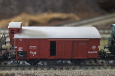 MARKLIN HO 4695 close goods car with breakerhouse, wagon marchandise avec gueri