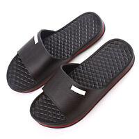 Mens Slip On Sport Slide Sandals Flip Flop Shower Shoes Slipper Pool Gym  House-