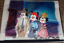 The Animaniacs Animated Series Original Production Cel Yakko Wakko Dot Signed