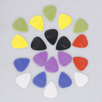 20Pcs 0.7mm Electric guitar pick plectrums for musical instrument accessories RU