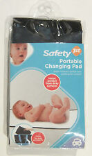 Safety 1st Portable Baby Changing Pad, Water Resistant and Padded, Black