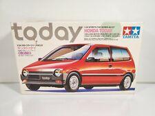 Tamiya Honda Today Model Kit & Motor #2457 1:24 1986 Built/Started w/ Box