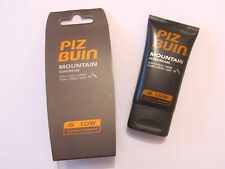 Piz Buin Mountain Sun/Cold/Wind 24Hour Protection Suncream - SPF 6 Low - New