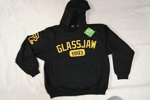 GLASSJAW 1993 VARSITY LOGO HOODIE HOODED SWEATSHIRT NEW OFFICIAL RARE