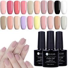 7.5ml Ur azúcar Gel UV Soak Off Esmalte De Uñas Rosa barniz de Gel de Color