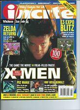 Incite Magazine #9 2000 August X-men Wolverine Zelda Returns Mint