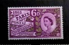 Great Britain Stamps SC 392p *  SG 636p  MNH1963 Phosphor Commemorative Set