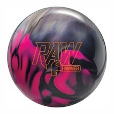 Hammer Raw Hammer Purple/Pink/Silver Bowling Ball