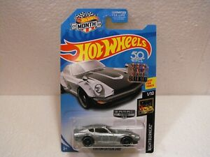 2018 HOT WHEELS ZAMAC CUSTOM DATSUN 240Z FROM FACTORY SET