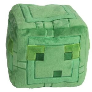 """Official Jinx Minecraft Slime Cube Plush 9.5"""" Tall *New"""