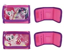 My Little Pony Set of 2 Children boy Tri Fold Wallet
