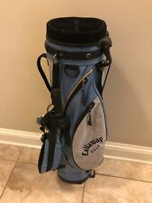 New listing Callaway Women's Stand/Carry Bag Blue W/ Cover