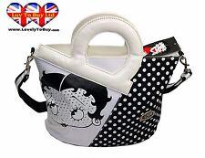 BETTY Boop Borsa a mano, marca, strass borsa a tracolla, con maniglie DIE CUT (prezzo consigliato: £ 29.99)