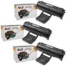 LD © Fits Samsung ML-2010D3 3pk Black ML-2010 ML-2510 ML-2570  ML-2571N