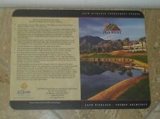 PGA West Jack Nicklaus Golf Score Card In La Quinta, California USA - New/Unused