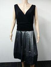 NEW - Sally Lou Fashions - Size 22W - Sleeveless Flared Dress - Black - $109