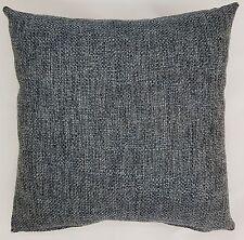 Handmade Charcoal/Teal slate Grey Woven Textured Home Decor Cushion Cover45x45