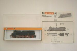 Arnold - Voie N - 2272 -tender Locomotive à Vapeur Dr 78 142 Emballage