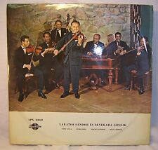 SANDOR LAKATOS ES ZENEKARA JATSZIK Qualiton LPX 10042 LP Gypsy Violin Hungary
