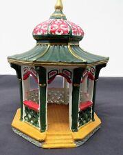 1996 Lemax Porcelain Christmas Village Gazebo