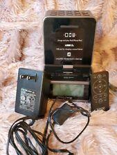 iHome ID37 iPad iPod Dual Alarm Stereo Clock Radio In Great Working Condition