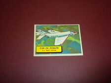 PLANES trading card #48 TOPPS 1957 Army Navy Marines Air Force WORLD AIRPLANES