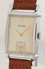 ZODIAC Art Deco Orologio da polso nel design dello chassis - 1940er anni-molto raro!