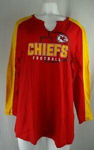 Kansas City Chiefs NFL Majestic Women's Plus Size T-Shirt