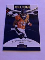 2018 Contenders Rookie of the Year  #14  COURTLAND SUTTON   BRONCOS
