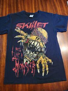 Skillet -- I Feel Like A 'Monster' T-Shirt Size small -  Black Rock Band Shirt