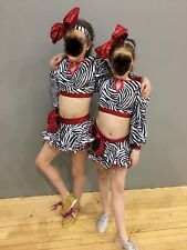 Freestyle Rock And Roll Pairs Dance Costumes U10/U12