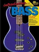 INTRODUCING BASS GUITAR Book & CD