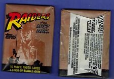 UNOPENED  10 CARD PACK 1981 TOPPS RAIDERS OF THE LOST ARK  MOVIE HARRISON FORD