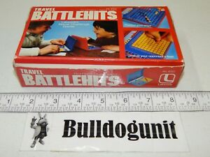 1981 Travel Battlehits Complete Game Lakeside Games Battle Hits KO
