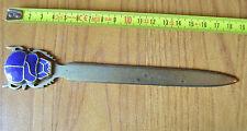 ANTICO TAGLIACARTE IN METALLO LUNGHEZZA 19 cm  SUBALPINA