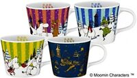Moomin Mug Tea Cup Limited Edition Sold at ONLY KFC Japan Set of 4 VERY RARE F/S