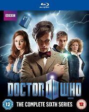 DOCTOR WHO  Complete Series 6 Blu-ray  Matt Smith Karen Gillan NEW UK Rele R2