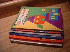 Lot of 6 Children's Math Books ~ Homeschool ~ Grades K-6 ~ Add Subtract Multiply