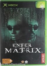 Jeu ENTER THE MATRIX microsoft XBOX game francais action juego spiel atari #1