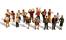 Woodland Scenics / SCENIC ACCENTS #1958 HO SCALE - SIXTEEN PEOPLE - 16/pc A1958