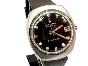 Junghans Electronic Dato-Chron Herren Armbanduhr um 1970