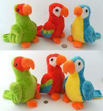 1 Plüschtier Papagei Kuscheltier Papageien Ara Aras Stofftiere Plüschtiere neu