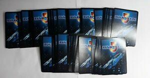 Lot of 102 Babylon 5 CCG cards