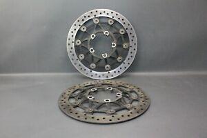 2012 Triumph Daytona 675 / front brake disk / 3,8 mm left