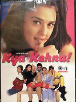 Kya Kehna, DVD, Tips Films, Hindu Language, English Subtitles, New