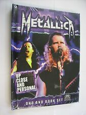 METALLICA - UP CLOSE AND PERSONAL - DVD+BOOK NEW SEALED