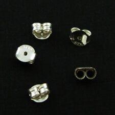 Sterling Silver Butterfly Earring Post Backs Earnuts (10 pairs - 20 pcs)