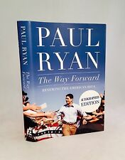 Paul Ryan-The Way Forward-SIGNED on Reagan Library Bookplate!!-First/1st Edition