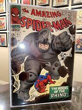 The Amazing Spider-Man #41 1st Appearance of Rhino Higher Grade CGC Ready!