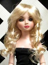 """Doll Wig, Monique Gold """"Summer"""" Size 8/9 in Champagne"""